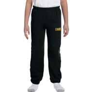 CJS Gildan Youth Heavy Blend Sweatpants - Black (CJS-305-BK)