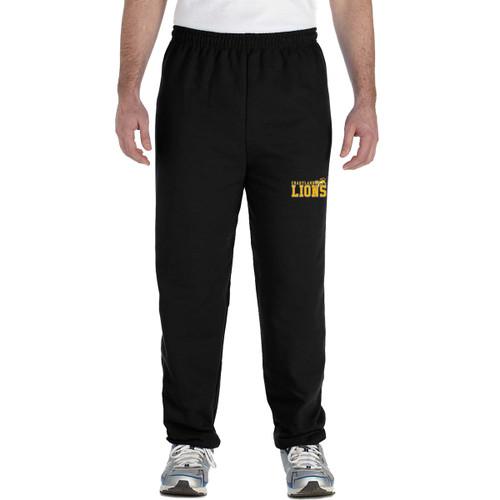 CJS Gildan Adult Heavy Blend Adult Sweatpants - Black (CJS-005-BK)