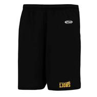 CJS Athletic Knit Youth Performance Short Black - Black (CJS-306-BK)