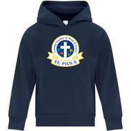 SPX ATC Everyday Youth Fleece Hooded Sweatshirt - Navy (SPX-301-NY)
