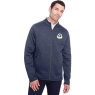 SPX North End Men's Flux 2.0 Full-Zip Jacket - Classic Navy Heather/ Carbon (SPX-102-NY)