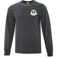 SPX ATC Everyday Men's Cotton Long Sleeve Tee - Dark Heather Grey (SPX-104-DH)