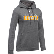 JBC Under Armour Women's Hustle Fleece Hoody - Carbon Heather (JBC-203-CB)