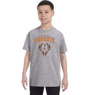 FFC Gildan Youth Heavy Cotton T-Shirt - Sport Grey (FFC-301-SG)