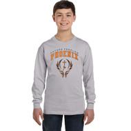 FFC Gildan Youth Heavy Cotton Long-Sleeve T-Shirt - Sport Grey (FFC-302-SG)