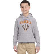 FFC Gildan Youth Hooded Sweatshirt - Sport Grey (FFC-303-SG)