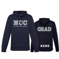 NCC Biz Collection Hype Men's Pull-On Hoody - Navy - GRAD (NCC-117-NY)