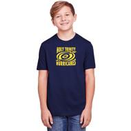 TCS Core 365 Youth Fusion ChromaSoft Performance T-Shirt - Navy (TCS-309-NY)