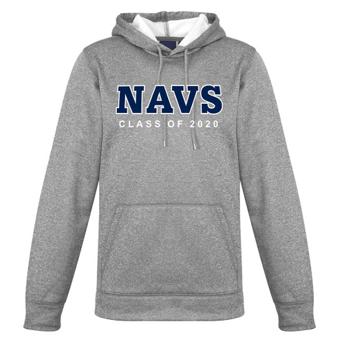 TMS Ladies Hype Pull on Hoodie - Grey Marle (NCC-209-GM)