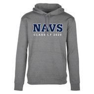 TMS Men's Hype Pull on Hoodie - Grey Marle (NCC-109-GM)