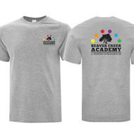 BCA ATC Men's Everyday Cotton Tee - Athletic Heather (BCA-103-AH)