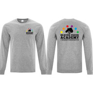 BCA ATC Men's Everyday Cotton Long Sleeve Tee - Athletic Heather (BCA-104-AH)