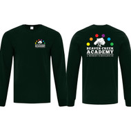 BCA ATC Men's Everyday Cotton Long Sleeve Tee - Dark Green (BCA-104-DG)