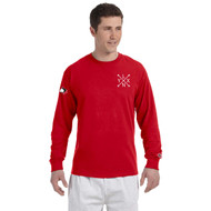 SLSS Champion Men's Long-Sleeve T-Shirt (Design 3) - Red (SLS-132-RE)