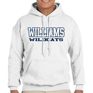 GWW WILDCATS Hoody (Adult)- WHITE
