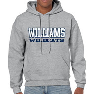 GWW WILDCATS Hoody (Adult)- Grey