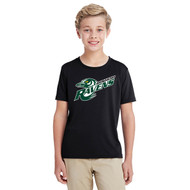 BMR Gildan Performance Youth Core T-Shirt - Black (BMR-303-BK)