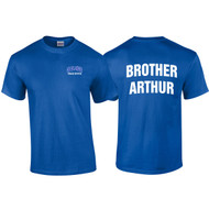 "Adult ""Brother Arthur"" Royal Blue House Shirt - Royal (DEL-008-RO)"