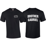 "DEL Adult ""Brother Gabriel"" Black House Shirt - Black"
