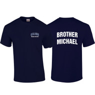 "DEL Adult ""Brother Michael"" Navy Blue House Shirt (DEL-008-NY)"
