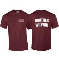 "DEL Adult ""Brother Wilfrid"" Maroon House Shirt (DEL-008-MA)"