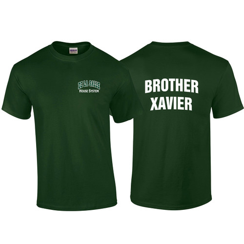 "DEL Adult ""Brother Xavier"" Forest Green House Shirt (DEL-008-FO)"