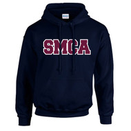 SMCA Gildan Adult Printed Cotton Hoodie - Navy (SMCA-004-NY)