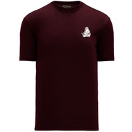 BCI Apparel Women's Short Sleeve Shirts - Maroon (BCI-213-MA)