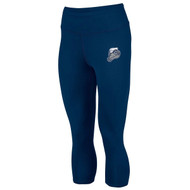 NCC Augusta Ladies Hyperform Compression Capri - Navy - Phys.ED (NCC-219-NY.AG-2628)