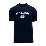 OLL Phys-Ed Athletic Knit Unisex Dryflex T-Shirt - Navy (OLL-018-NY)