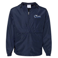STA Champion Adult Packable Anorak 1/4 Zip Jacket - Navy (STA-034-NY)