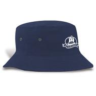 VPS Heavyweight Brushed Cotton Twill Bucket Hat - Navy (VPS-051-NY.FE-FP716-OS)