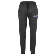 LSH Biz Collection Men's Hype Jogger Pant - Black Marle (LSH-109-BM)