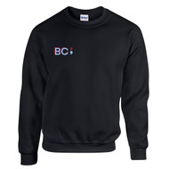 BCI Gildan Adult Heavy Blend Fleece Crew - Black (BCI-037-BK)