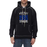 STA King Athletics Extra Heavy Hooded Pullover - Black (STA-035-BK)