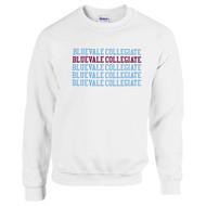 BCI Gildan Adult Heavy Blend Fleece Crew - White W/New Logo (BCI-038-WH)