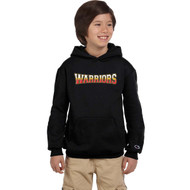 ACA Champion Powerblend Eco Fleece Youth Hood - Black (ACA-301-BK)