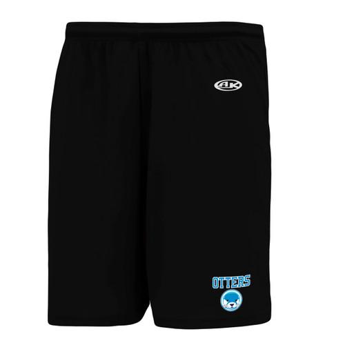 UGR AK Adult Dryflex Shorts - Black (UGR-105-BK)