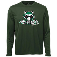 PGS ATC Men's Pro Team Long Sleeve Tee - Forest Green (PGS-103-FO)