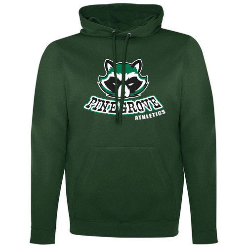 PGS ATC Men's Game Day Fleece Hooded Sweatshirt - Forest Green (PGS-106-FO)