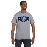 SMC Jerzees Adult Dri-Power Active T-Shirt - Oxford Gray (SMC-040-OX)