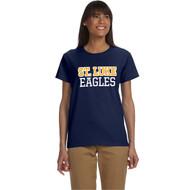 SLU Gildan Women's Ultra Cotton T-Shirt - Navy (SLU-206-NY)