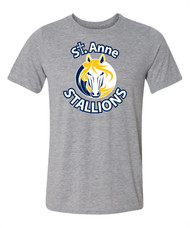 SAS Gildan Men's Performance T-Shirt - Grey (SAS-111-GY)