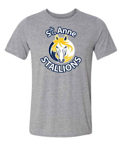 SAS Gildan Men's Performance T-Shirt - Grey (SAS-111-GY)