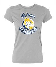 SAS Gildan Women's Performance T-Shirt - Grey (SAS-211-GY)