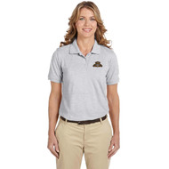 Harriton Lady's Easy Blend Poly-Cotton Blend Polo - Grey Heather (LBP-210-GH)