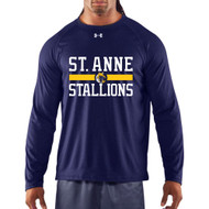 SAS Printed Under Armour Long Sleeve - Adult - Navy (SAS-115-NY)