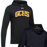 GCS UA Men's Hustle Fleece Hoody - Black (GCS-101-BK)