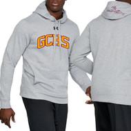 GCS UA Men's Hustle Fleece Hoody - True Grey Heather (GCS-101-TG)