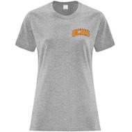 GCS ATC Women's Cotton Short Sleeve T Shirt - Athletic Heather (GCS-201-AH)
